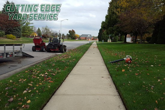 Cutting Edge Yard Service Lawn Mowing And Maintenance