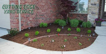 mulch supply delivery and installation